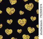 vector pattern with stylized... | Shutterstock .eps vector #792509374