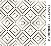 vector seamless pattern. modern ... | Shutterstock .eps vector #792514036