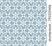 seamless japanese pattern | Shutterstock .eps vector #792525406