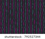 streaky curved stripes vertical ... | Shutterstock .eps vector #792527344