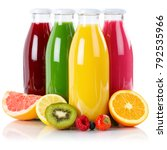 juice smoothie smoothies in... | Shutterstock . vector #792535966