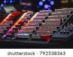 selective focus image of... | Shutterstock . vector #792538363