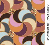 abstract color seamless pattern ... | Shutterstock . vector #792542590