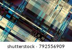 abstract digital fractal... | Shutterstock . vector #792556909