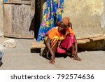 saint louis  senegal   apr 24 ... | Shutterstock . vector #792574636