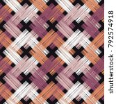 ethnic boho seamless pattern.... | Shutterstock .eps vector #792574918