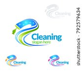 Cleaning Service Vector Logo...