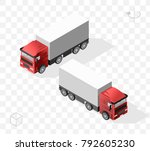 set of isolated high quality... | Shutterstock .eps vector #792605230