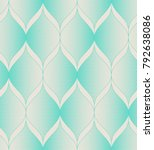 seamless vintage pattern | Shutterstock .eps vector #792638086