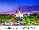 new orleans  louisiana  usa... | Shutterstock . vector #792640240