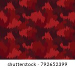abstract camouflage pattern.... | Shutterstock .eps vector #792652399