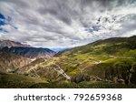 sichuan tibet plateau scenery... | Shutterstock . vector #792659368