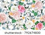spring seamless pattern   Shutterstock .eps vector #792674830