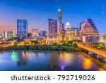 austin  texas  usa downtown... | Shutterstock . vector #792719026