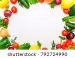 healthy food  vegetables | Shutterstock . vector #792724990