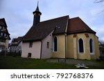 hospital church  giengen brenz  ... | Shutterstock . vector #792768376