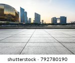 empty marble floor with... | Shutterstock . vector #792780190