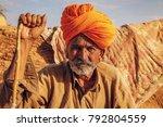 jaisalmer  rajasthan  india ...   Shutterstock . vector #792804559