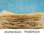 Flour Tortillas With Copy Spac...