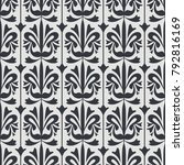 seamless vintage pattern | Shutterstock .eps vector #792816169