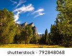 yosemite national park ... | Shutterstock . vector #792848068