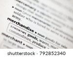 close up to the dictionary... | Shutterstock . vector #792852340