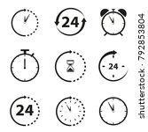 non stop icons | Shutterstock .eps vector #792853804