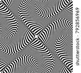 seamless abstract op art... | Shutterstock .eps vector #792856969