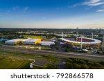 gold coast  queensland... | Shutterstock . vector #792866578