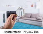 home property inspection... | Shutterstock . vector #792867106
