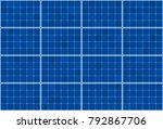 solar thermal collector   flat... | Shutterstock .eps vector #792867706