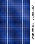 solar panel background pattern  ... | Shutterstock .eps vector #792868864