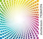 Spiral Pattern   Rainbow...