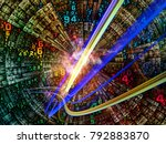 number domain series. backdrop... | Shutterstock . vector #792883870