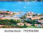 harbor with boats at porto... | Shutterstock . vector #792906580