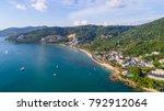 karim beach. the calm beach...   Shutterstock . vector #792912064