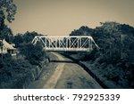 a vintage  grainy photograph of ... | Shutterstock . vector #792925339