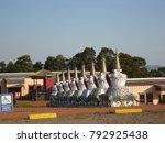 khadro ling buddhist temple ... | Shutterstock . vector #792925438