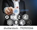concept photo  business man...   Shutterstock . vector #792935266