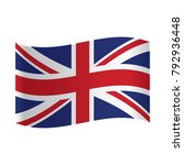 united kingdom flag  vector... | Shutterstock .eps vector #792936448