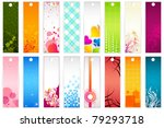illustration of set of colorful ... | Shutterstock .eps vector #79293718