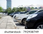 car in parking lot | Shutterstock . vector #792938749
