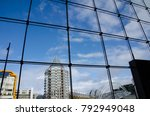 grids and blue sky | Shutterstock . vector #792949048