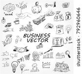 the concept for business... | Shutterstock .eps vector #792960646