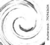 halftone radial black and white ... | Shutterstock .eps vector #792963634