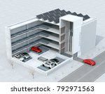 cutaway concept image for... | Shutterstock . vector #792971563