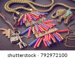 Accessories Necklace In Ethnic...