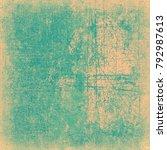 green beige grunge background | Shutterstock . vector #792987613