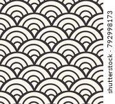 seamless japanese pattern | Shutterstock .eps vector #792998173