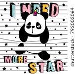 Cute Panda  Stripes And Panda ...